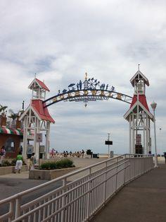 Boardwalk sign ocean city md