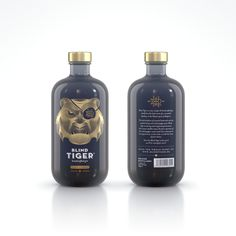 Blind Tiger gin - Piper Cubeba #blindtigergin #deluxedistillery #gin #spirits #packaging #ginsoftheworld