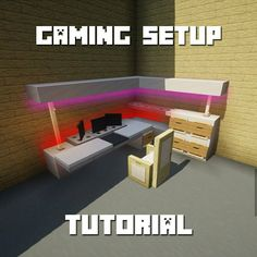 Building Link 664140276287164848 - Source by Minecraft Mods, Plans Minecraft, Easy Minecraft Houses, Minecraft House Designs, Minecraft Decorations, Amazing Minecraft, Minecraft Bedroom, Minecraft Tutorial, Minecraft Blueprints