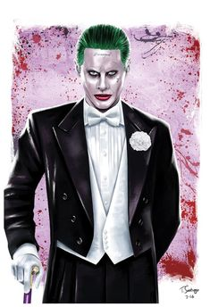 Joker-jared-leto-fan-art-tony-santiago by tsantiago