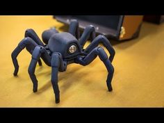 ▶ Inside Adam Savage's Cave: Awesome Robot Spider! - YouTube