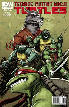 "The ""new"" Teenage Mutant Ninja Turtle series by IDW, is (in our opinion) the best iteration of the Turtles's franchise to date. It beautifully blends the best elements of all the previous versions. This series is not to be missed! #TMNT #Comics 1st 4 issues: https://play.google.com/store/books/details/Kevin_Eastman_Teenage_Mutant_Ninja_Turtles_Vol_1_C?id=B_fTAgAAQBAJ&hl=en"