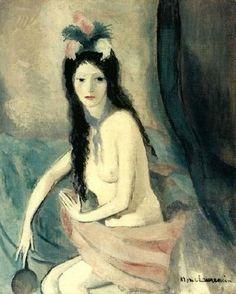 Tu ressemblais à une aquarelle de Marie Laurencin.