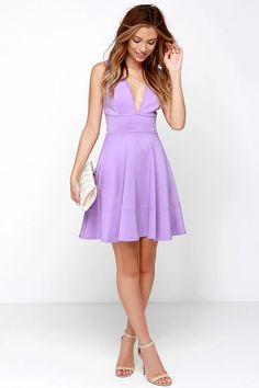 Like You Do Lavender Dress