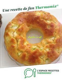 Cake rond courgettes, menthe et feta par Papilles-on-off. Une recette de fan à retrouver dans la catégorie Tartes et tourtes salées, pizzas sur www.espace-recettes.fr, de Thermomix®.