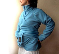 BabyWearing Outerwear - Now Fully Lined - Great with the Baby or Solo - Polar fleece Lined With Pure Cotton - For Back AND Front Carry - Fits…