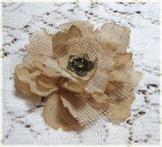 Frilly and Funkie Flower tutorial