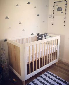 """122 Likes, 5 Comments - INCY INTERIORS STORE (@theincystore) on Instagram: """"Touches of grey with our Teeny cot from @onelittleclark x #incyinteriors #teenycot #nursery"""""""