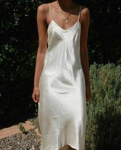 m File #silk #whitedress