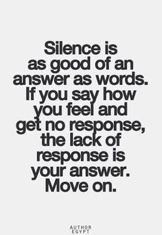 Actions speak louder than words...