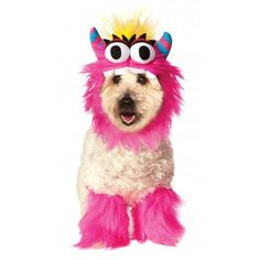 Rubies Monster Halloween Dog Costume - Pink