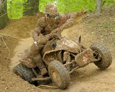 """Looks like some """"dirty"""" fun!  ;-)  Can't wait to try this on the muddy trails of Aroostook County, Maine!  
