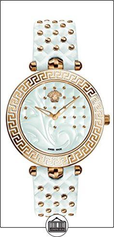 Versace Reloj con movimiento cuarzo suizo Vanitas VK7010013 Blanco 40.00 mm  ✿ Relojes para mujer - (Lujo) ✿