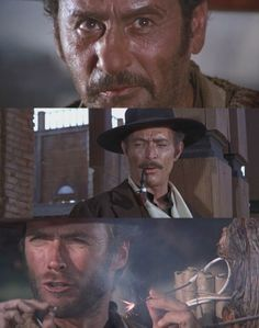 The Good, the Bad, and the Ugly. A truely classic American Western.....made in Spain by an Italian Director!