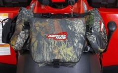 ATV Saddle Storage Bag Front Gas Tank Accessories Cargo Gear Pack Camo #AmerTrails
