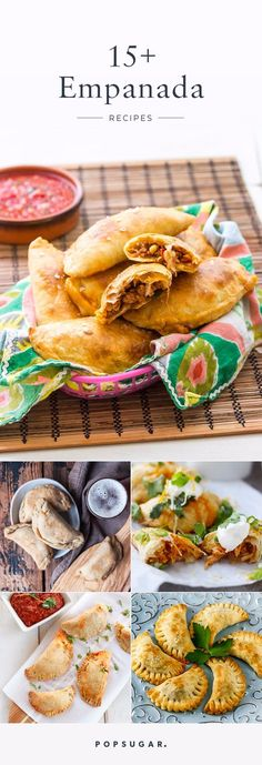 Junk Food 16 Irresistible Empanada Recipes You Should Try Making at Home - We could write long love letters to empanadas. We could wax poetic about their delicious dough, either fried or baked, and the delightfulness of taking that Beef Recipes, Mexican Food Recipes, Cooking Recipes, Sirloin Recipes, Latin Food Recipes, Meatball Recipes, Junk Food, Appetizer Recipes, Dinner Recipes
