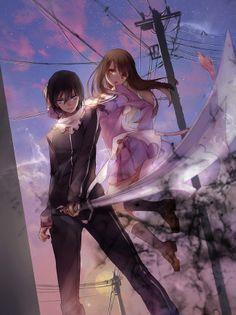 Iki Hiyori & Yato by Mo Mo Zi Manga Anime, Manga Art, Anime Art, Yato And Hiyori, Noragami Anime, I Love Anime, Me Me Me Anime, God Of War, Yatori