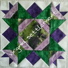 Block 3 | Jamestown BOM from Ladybug Hill Quilts | Pinterest : ladybug hill quilts - Adamdwight.com