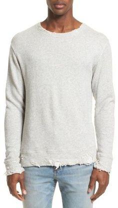 R 13 Men's Vintage Distressed Sweatshirt