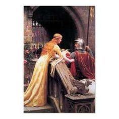 """knight and lady- one of my favorites. I want this for our """"Medieval"""" room."""