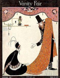 Kay Nielsen Deco Artwork--Vanity Fair--December 1917