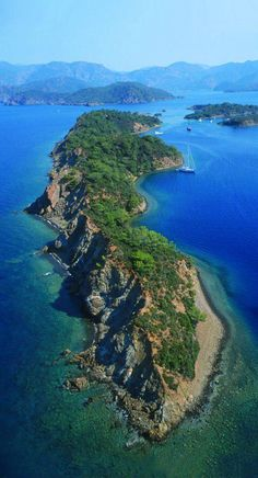 Island near #Gocek can be observed during 12 Islands Boat Trip from #Fethiye harbor