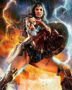 Wonder Woman amazing