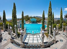 Hearst Castle, San Simeon, CA (Photo by Kay Gaensler- Permission to post given on Flickr profile)