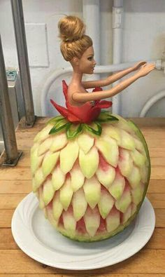 Barbie watermelon dress.
