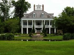southern plantations | Southern Plantation House Plans With Chimney