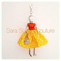 Collana con bambolina, by Sara Susan Couture, 20,00 € su misshobby.com