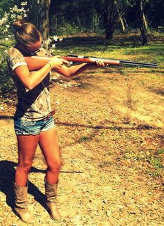 I guess we figure someone's real country when they show they can shoot. Plus, it's fun!