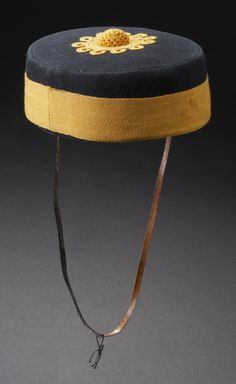 North-West Mounted Police Constable's Forage Cap Date: ca. Military Cap, Military Uniforms, National Police, Canadian History, Museum Collection, Military History, Law Enforcement, North West, 19th Century