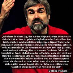 Volker Pispers wahre Worte