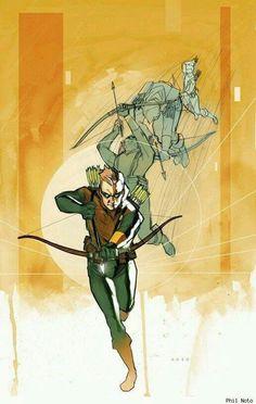 Connor Hawke - Green Arrow