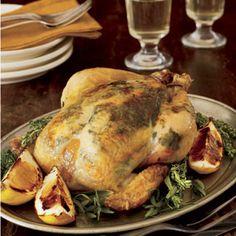 Le Plat Principal: Lemon-herb Roast Chicken