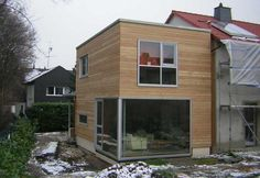 Extension maison deux étages en bois | ogrod zimowy en 2019 | House ...