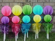 willy wonka decor - Google Search...easy suckers