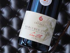 Mercurey 1er Cru 2010. Domaine Lefort. Vin rouge de Bourgogne #1ercru #wine #winelover