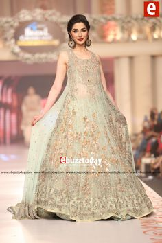 ERUM KHAN Collection at Telenor Bridal Couture Week 2015