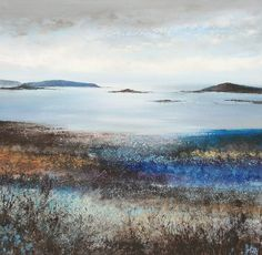 British Artist Amanda HOSKIN - Drama of the Islands, Scillies