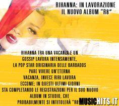 +Rihanna  lavora sul suo nuovo album!