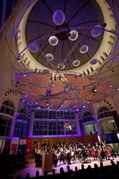 Netherlands Philharmonic performance at the NedPhO Dome © Ronald Knapp