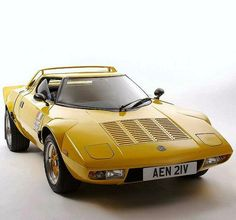 Beautiful Lancia Stratos