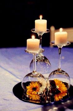 A Simple Yet Creative Idea For A Romantic Dinner. ;)