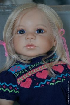 Купить София 3 - темно-синий, габриэлла, молд габриэлла, реборн девочка, реборн кукла