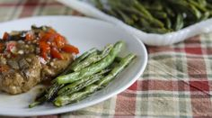 Make fresh green beans tasty and fancy on a week night by roasting them. Forget the casserole!