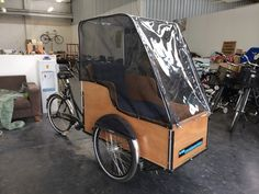 Christiania Cargo Bike: S/box | psbikes - Scandinavian bicycles in Melbourne