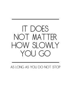 how slowly....