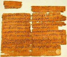 Archeologia: rinvenuto antico amuleto egiziano che cita l'ultima cena. La scoperta è stata fatta da Roberta Mazza, studiosa italiana di papirologia e storia antica all'Università di Manchester. L'oggetto risale a 1.400 anni fa.